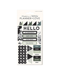 Gingham Farm Planner Love Sticker Sheets