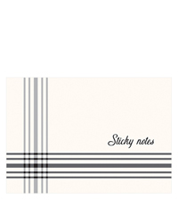 Gingham Farm Planner Love Sticky Notes
