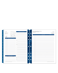 Monticello Daily Ring-bound Planner