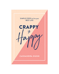 Crappy To Happy Book