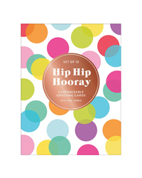Hip Hip Hooray Notecards