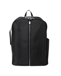 Englewood Nylon with Leather Trim Weekend Backpack