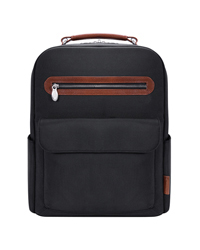 Logan Nylon with Leather Trim Backpack