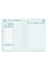 Australia/New Zealand Original Two Page Per Day Ring-bound Planner