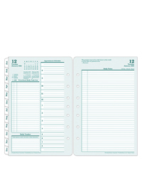Original Two Page Per Day Ring-bound Planner