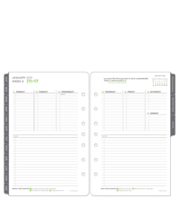 The 5 Choices Weekly Ring-bound Planner