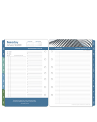 Leadership Two Page Per Day Ring-bound Planner