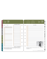 7 Habits Two Page Per Day Ring-bound Planner