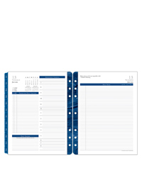 Monticello Two Page Per Day Ring-bound Planner