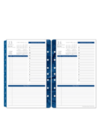Monticello One Page Per Day Ring-bound Planner