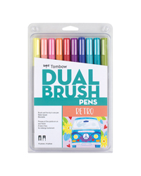 Dual Brush Pen Set 10PK