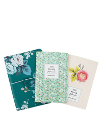 Splendor Planner Love Floral Travelers Cover and Planner Bundle