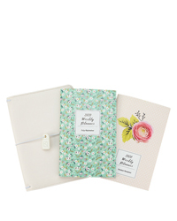 Splendor Planner Love Striped Travelers Cover and Planner Bundle