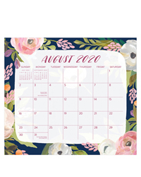 Bella Flora Magnetic 2021 Monthly Pad