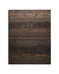 Wood You Plan Large Weekly/Monthly July 2020-2021 Academic Planner