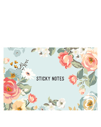 Gingham Gardens Planner Love Sticky Notes