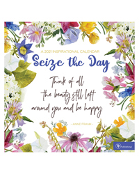 2021 Seize the Day Wall Calendar