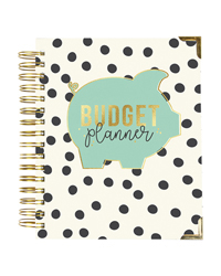 Everyday Living Spiral Planner Budget