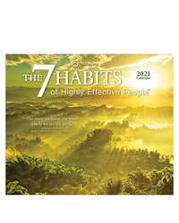 The 7 Habits of Highly Effective People 2021 Box Calendar
