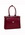 Winnetka Ladies Leather Briefcase - Red