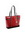 Serafina Leather Tote - Red