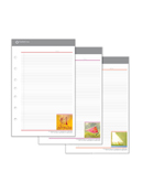 Her Point of View Portfolio Notepads - Set of 3