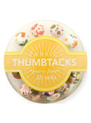Prairie Flora Fabric Thumbtacks
