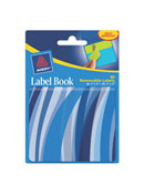Removable Label Book