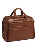 Springfield Leather Fly-Through Checkpoint-Friendly 17 Inch Laptop Case