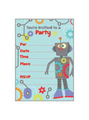 Robot Fill-in Invitations