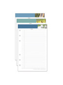 Leadership Portfolio Notepads - Set of 3