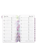 Floral Blooms Address-Phone Tabs