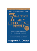 The 7 Habits Of Highly Effective People 25th Anniversary Hardcover Book