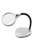 Flexible Desktop Lighted Magnifier w/ Bifocal