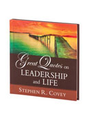 Great Quotes on Leadership and Life Hardcover