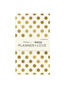Gold Planner Love Notebooks 3 Pack