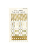 Gold Planner Love Sticker Sheets