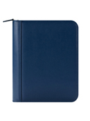 FranklinCovey Basics Leather Zipper Binder