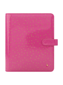 Pink Confetti Planner Love Simulated Leather Binder