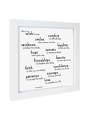 Quotable Framed Print My Wish for You