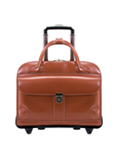 Lakewood Leather Fly-Through™ Wheeled Case