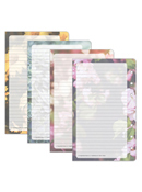 Blooms Lined Pages