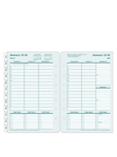 100% Recycled Ring-bound Weekly Planner