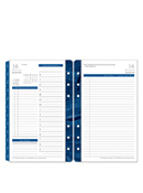 Monticello Ring-bound Daily Planner