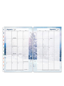 Seasons Two-Page Monthly Calendar Tabs