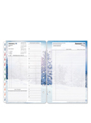 Seasons Ring-bound Daily Planner