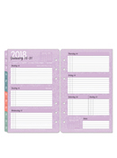 Serenity Ring-bound Weekly Planner