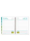 Her Point of View Wire-bound Six Month Planning Notebook
