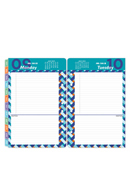 RetroPop Ring-bound One-Page-Per-Day Planner