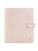 Blush Planner Love Simulated Leather Snap Binder